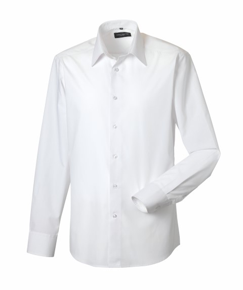 Tailored Poplin Shirt LSL