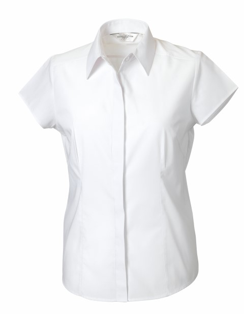 Ladies Fitted Poplin Shirt SS