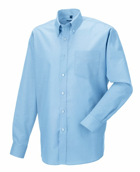 Men Longsleeve Easy Care Oxford Shirt